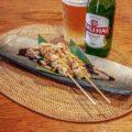 鶏肉の串焼き(2本)